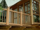Curved Timber 3 Season Porch ::